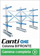 Colonna cantilever bifronte
