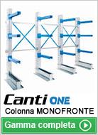 Colonna cantilever monofronte