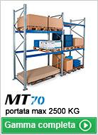 Scaffali portapallet MT70