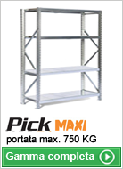 Scaffalature per picking Pick Maxi
