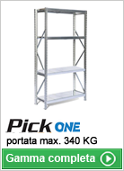 Scaffalature per picking Pick One