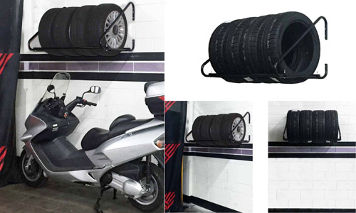 porta pneumatici da muro