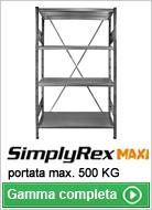 Scaffalature leggere Simplyrex Maxi