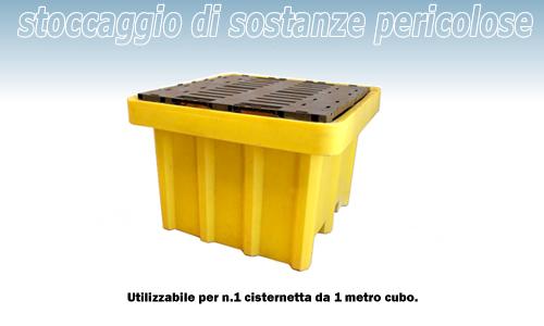 Vasca Da Un Metro : Vasca contenimento liquidi in pe 1050 lt