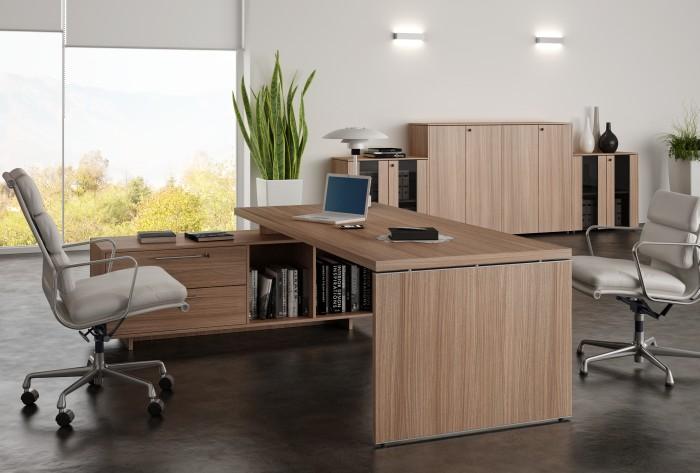 Scrivania Ufficio Immagini : Scrivanie direzionali ufficio