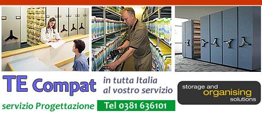 Scaffalature Compattabili Gaesco