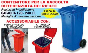 Pattumiere rifiuti