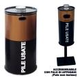 Contenitore batterie usate