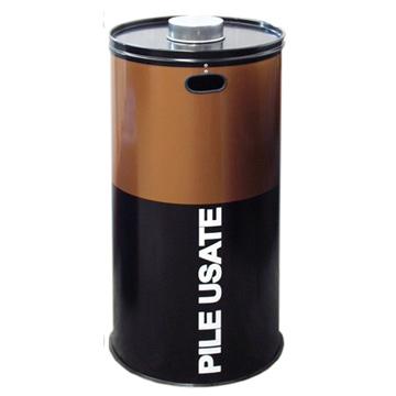 Contenitori batterie usate